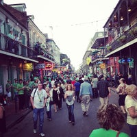 Photo taken at Bourbon Street by Herlveron S. on 3/17/2013