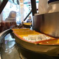 Photo taken at Floating Sushi Boat by Ayesha Z. on 5/21/2017