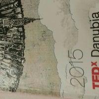 Photo taken at TEDxDanubia@Uránia by Kaller C. on 5/21/2015