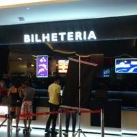 Photo taken at Cine Araújo by Paulo Ricardo L. on 1/13/2013