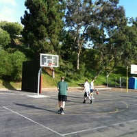 Photo taken at Hoops at St Larry's Court by Tim T. on 6/22/2013