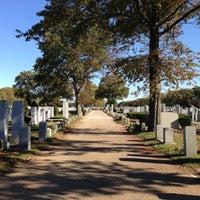 Photo taken at Beth David Cemetery by Jeffrey on 10/16/2012