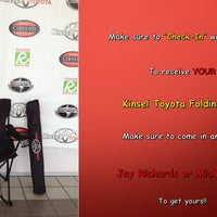 Photo taken at Kinsel Toyota by Kinsel Toyota on 9/5/2013