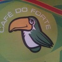 Photo taken at Café do Forte by Matheus F. on 1/5/2013