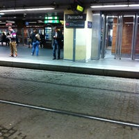 Photo taken at Station Perrache [T1,T2] by Gregory on 10/2/2012