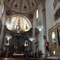 Photo taken at Templo de San Francisco by Elena S. on 12/24/2017