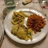 Photo taken at Trattoria del Gallo by Alessandro D. on 9/20/2013