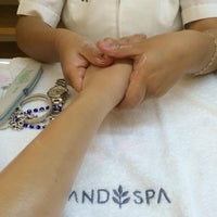 Photo taken at Hand Spa by sai s. on 9/30/2014