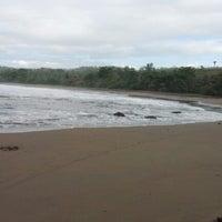 Photo taken at Rancabuaya Beach by Amudhan R. on 11/24/2012
