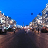 Снимок сделан в Невский проспект пользователем Daniel Z. 7/26/2013