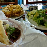 Photo taken at Nikos Gyros by Carlos B. on 4/28/2015