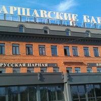 Das Foto wurde bei Варшавские бани von Ivan Artsybyshev am 9/28/2012 aufgenommen