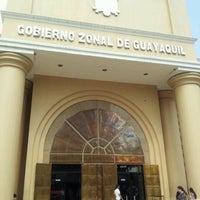 Photo taken at Gobierno Zonal de Guayaquil by Jonathan R. on 11/21/2012