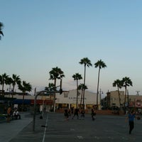 Photo taken at Venice Beach Basketball Courts by Ray S. on 8/23/2016