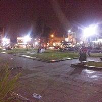 Photo taken at Plaza 20 de Febrero (Plaza de Ituzaingó) by Alejandra A. on 8/18/2014