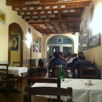 Photo taken at Ristorante al Frate by Michele Iltrapanatoredicorte on 4/24/2013