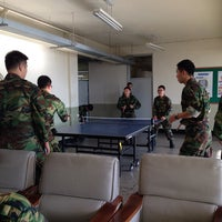 Photo taken at 건국대학교 학군단(ROTC) by Yoon Ho S. on 11/7/2013