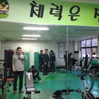 Photo taken at 건국대학교 학군단(ROTC) by Yoon Ho S. on 11/19/2013
