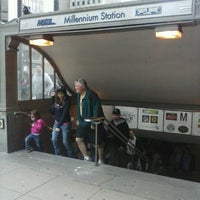 Photo taken at Millennium Station by Jessica S. on 5/4/2013