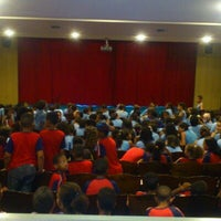 Photo taken at Teatro Nossa Senhora das Dores by Rafael E. on 10/19/2012