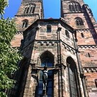 Photo taken at St. Sebald by Kukuřice on 7/21/2014