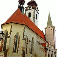 Photo taken at Church of the Birth of the Virgin Mary by Kukuřice on 11/11/2013