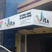 Photo taken at Vita comunicação by Jil B. on 1/30/2015