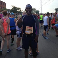 Photo taken at Boilermaker 15K Starting Line by Max L. on 7/14/2013
