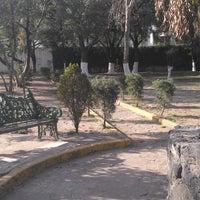 Photo taken at Parque Historiadores by Javo V. on 11/29/2013