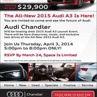 Audi Chandler Auto Dealership In Chandler - Audi chandler