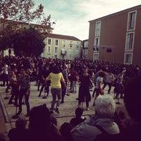 Photo taken at Place des Beaux Arts by Sébastien P. on 11/10/2013