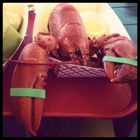 Photo taken at Thurston's Lobster Pound by Will on 7/5/2013