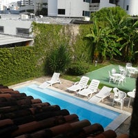 Photo taken at Hostel Boa Viagem by Wanessa R. on 7/24/2013