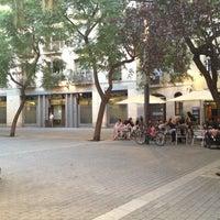 Photo taken at Placa Allada Vermell by fernando p. on 10/21/2012
