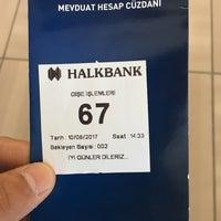 Photo taken at Halkbank by Zeki D. on 8/10/2017