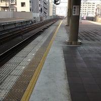 Photo taken at Nankai Tengachaya Station (NK05) by Kotaro M. on 4/18/2013