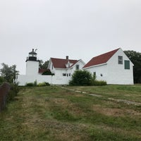 Photo taken at Fort Point Light by Rach E. on 7/18/2017