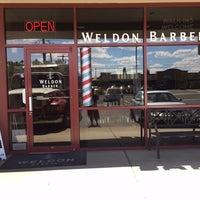 Photo taken at Weldon Barber by Weldon Barber on 9/16/2016
