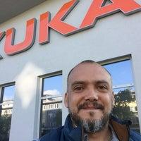 Photo taken at KUKA Roboter GmbH by Alejandro M. on 7/13/2017