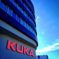 Photo taken at KUKA Roboter GmbH by Alejandro M. on 7/16/2017