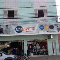 Photo taken at Estevam Roupas by Jonas H. on 12/9/2014