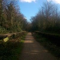 Das Foto wurde bei Parkland Walk (Finsbury Park to Crouch End Section) von Angie E. am 2/24/2014 aufgenommen