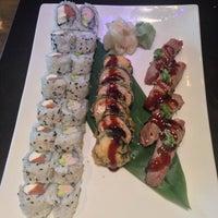 Photo taken at Sushi Hai by Daniel H. on 7/14/2013