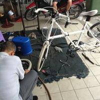 Photo taken at Kedai Basikal Dan Tayar Foo Hing by mr n. on 8/4/2013
