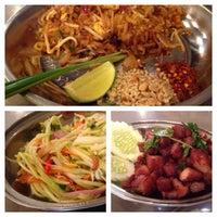 Photo taken at Sanook Thai Cafe by mr n. on 1/17/2014