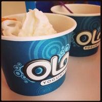 Photo taken at Olo Yogurt Studio by Eric C. on 2/12/2013