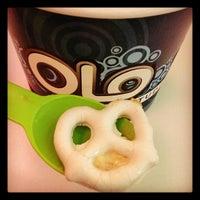 Photo taken at Olo Yogurt Studio by Eric C. on 11/25/2012