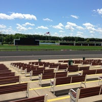 Photo taken at Arlington Park by Shannon on 6/28/2013