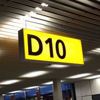 Photo taken at Gate D10 by Andriy K. on 8/27/2013