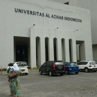 Photo taken at Universitas Al Azhar Indonesia by Cut A. on 2/5/2013